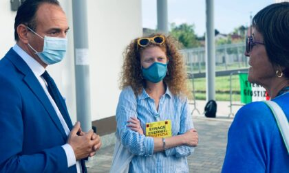 Il presidente Alberto Cirio a Novara per il processo Eternit-Bis