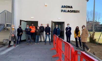 Arona ottiene oltre 200mila euro di contributo per il Palagreen