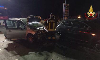 Incidente sul Sempione a Castelletto: coinvolte sei persone