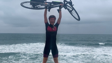 Quasi 2mila km in bici da Ghemme fino all'Atlantico