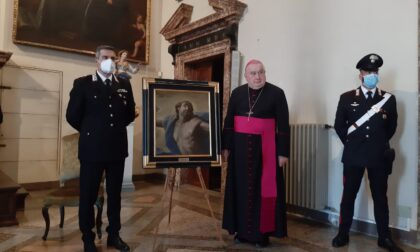 Restituito dipinto rubato nella chiesa di Vignone oltre 30 anni fa