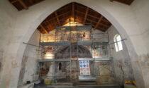Chiesa Sillavengo: restauro dei preziosi affreschi grazie a Fondazione Comunità Novarese onlus