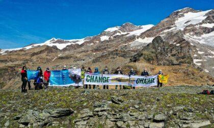 Riparte oggi, mercoledì 8 settembre, la carovana dei ghiacciai di Legambiente in Piemonte e Valle d'Aosta