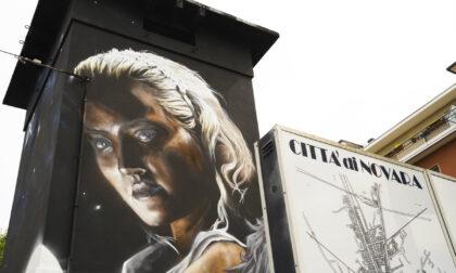 Novara ospita uno dei 9 murales realizzati in Italia in onore di Dante