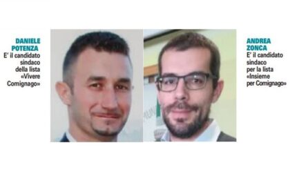 Elezioni comunali 2021: a Comignago ha vinto Daniele Potenza