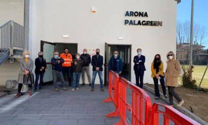 Palagreen Arona chiude come centro vaccinale: la campagna proseguirà a Oleggio Castello