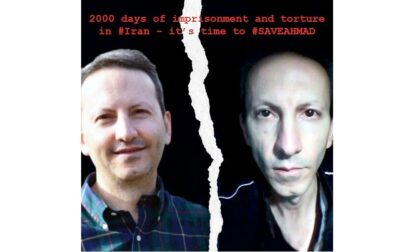 Ahmadreza Djalali in prigione in Iran da 2mila giorni