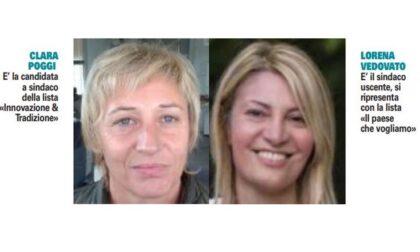 Elezioni Dormelletto: Lorena Vedovato straccia Clara Poggi