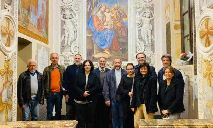 Inaugurati i restauri nella Cappella Visconti a Castelletto
