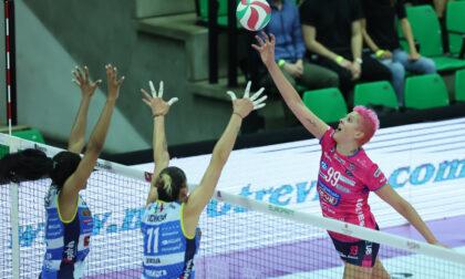 Igor Volley: niente da fare a Treviso contro l'Imoco