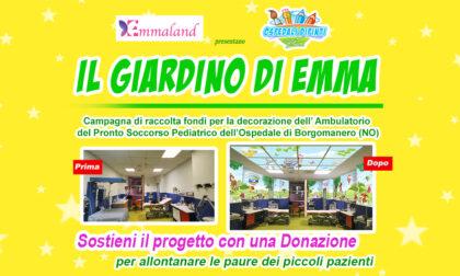 """Raccolta fondi per trasformare il Pronto soccorso pediatrico di Borgomanero nel """"Giardino di Emma"""""""