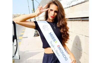 """L'aronese Erika Mattina vince la fascia """"People's choice"""" al concorso di Miss Mondo"""